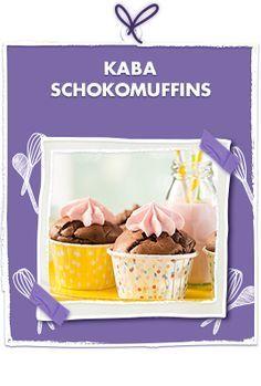Kaba Muffins mit Schokoladen Geschmack