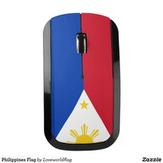 Shop Philippines Flag Wireless Mouse created by Loveworldflag. Philippines Flag, Images Wallpaper, Baybayin, Flags Of The World, Pinoy, Image Collection, Personalized Gifts, Asia, Collections