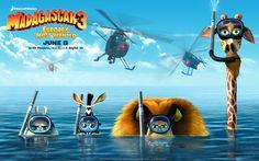 Madagascar 3, uno de los seis estrenos argentinos de esta semana.