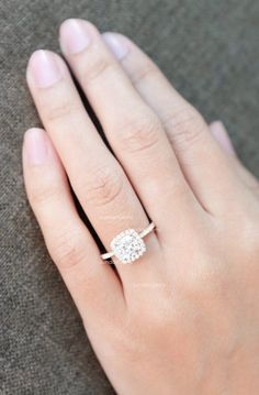 CERTIFIED Colorless Forever ONE Cushion Moissanite & Diamond
