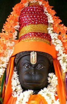 Panchamukha Hanuman Homa is unique as it invokes five forms of Hanuman that represent powerful temples of India. Hanuman Murti, Hanuman Jayanthi, Hanuman Pics, Jai Hanuman Images, Hanuman Ji Wallpapers, Hindu Deities, Hinduism, Mahakal Shiva, Lord Shiva Family
