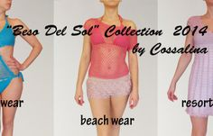 """Beso del Sol"" Swimwear, Beachwear and Resort-wear Collection 2014 blends in each garment beauty, uniqueness and femininity in order to create perfection. Beachwear, Swimwear, Resort Wear, Sunnies, Presentation, Feminine, Board, Sexy, How To Wear"