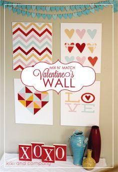 Mix N' Match Valentines Day art