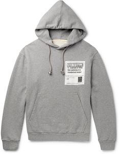 Maison Margiela - Stereotype Loopback Cotton-Jersey Hoodie