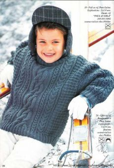 Pullover for boy.