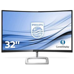 Philips Philips E Line Curved LCD monitor with Ultra Wide-Color - from Holistic IoT Ltd Monitor Speakers, Built In Speakers, Lcd Monitor, Radios, Ingolstadt Germany, Quad, Display Technologies, Gaming, Speakers