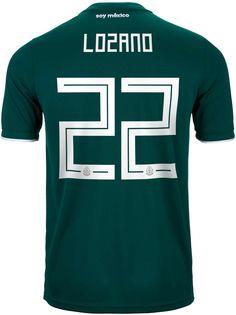 589efc3589a 2018 19 adidas Hirving Lozano Mexico Home Jersey