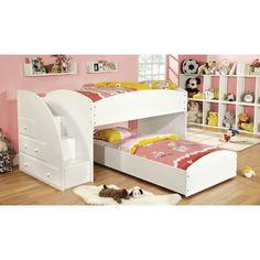 Hokku Designs Jamie Twin Over Twin Bunk Bed | Wayfair