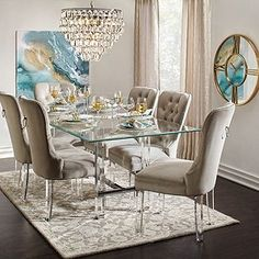 b9c4204f6fa8 8 Best Dining Room images | Dining room furniture, Dining room sets ...