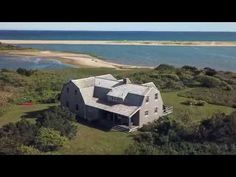 Waterfront property on Chappaquiddick with extensive private beach and water views that stretch as far as the eye can see. Spread out over 4 acres, this prop. Modern Rustic Homes, Dream Properties, Waterfront Property, Martha's Vineyard, Best Fishing, Ocean Beach, Acre, Surfing, Vacation