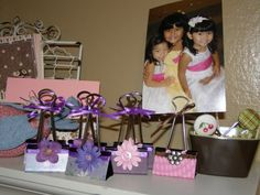 binder clip decorated to hold photos.  Could have other uses too.