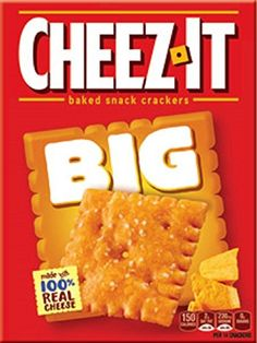Sunshine Bakeries, Cheez-It, BIG, Cheese Crackers, Ounce Box (Pack of - Food Gourmet Recipes, Snack Recipes, Party Spread, Cheese Tasting, No Bake Snacks, Late Night Snacks, Crackers, Cravings, Bakery