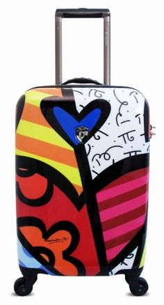 Heys USA Luggage Britto New Day 22 Inch Hardside Carryon Spinner New Day 22 Inch >>> You can get additional details at the image link.