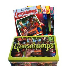 Goosebumps: Goosebumps Retro Scream Collection (Other) - Walmart.com - Walmart.com Tin Containers, Ebook Pdf, Free Ebooks, Reading Online, Scream, Audio Books, Activities For Kids, Kindle