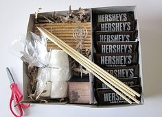 S'mores kit for Christmas gifts