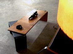 Ply Bak Pivot table  Mid Century Modern by lunarloungedesign, $350.00