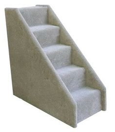 """Mini 5 Step Dog Steps – Petiquette Dogs -  No more getting up to get your dog down from your bed. Beds and couches come in all sizes, which is exactly why we designed steps to reach those higher elevations. Our pet steps are now available in a 5 step configuration. """"Like"""" or """"Pin"""" this and receive a 5% discount code."""