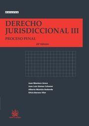 Derecho jurisdiccional. III, Proceso penal / Juan Montero Aroca [y otros]