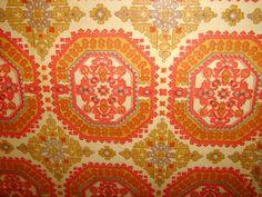 Moroccan inspired Vintage wallpaper