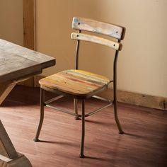 Reclaimed Teak Boatwood Chair   VivaTerra
