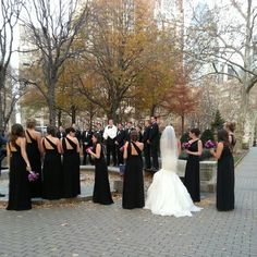 Wedding photography at Rittenhouse Square