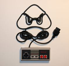 Nintendo Characters Created From NES Controller Cords