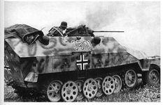 SdKfz 251 Schutzenpanzerwagen German halftrack