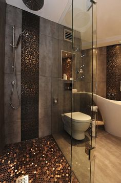 3fa26  bath Interior Inspirations Metallic Interior Design Inspiration