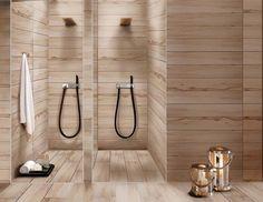 contemporary bathroom tile ideas wood finish modern wall tiles floor tiles Eleganza tile design ideas