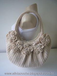 Silvia Gramani Crochet: Bag Fat Bag