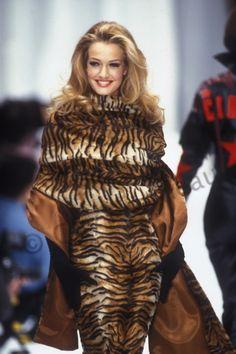 Karen Mulder for Complice 1992