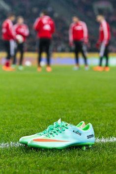Mario Götze's Nike Mercurial Vapor IX Soccer Cleats
