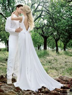 Max Chaoul Wedding Dress 2012 — Les Amoureux Bridal Collection | Wedding Inspirasi