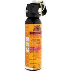 Frontiersman Bear Spray Cannister - Notes: it expires. Do not spray it around your campsite. Most importantly, try to spray downwind. Wilderness Survival, Survival Tips, Tears In Eyes, Bear Attack, Close Encounters, Hiking Tips, Fire Extinguisher, Crazy People, Canisters