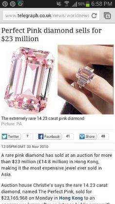 Most expensive fancy colored diamond