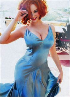 i haven't seen Mad Men or Firefly, but i think that Christina Hendricks is beautiful. i love redheads! Christina Hendricks Bikini, Beautiful Redhead, Beautiful People, Beautiful Women, Beautiful Christina, Beautiful Curves, Sexy Curves, Girl Crushes, Cristina Hendrix