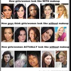 celebs without makeup just-funny