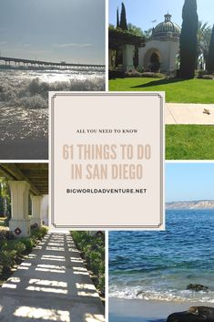 All the best things to do in san diego, california presented Packing Tips For Travel, Travel Guides, States In America, North America, United States, Stuff To Do, Things To Do, Travel Words, Thailand Travel