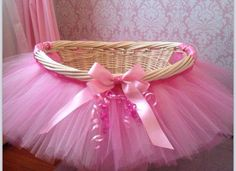 How cute is this a tutu gift basket