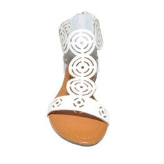 T Strap Sandal White, $35, now featured on Fab.