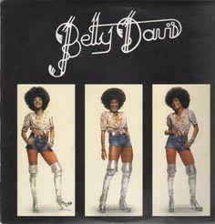 Betty Davis - Betty Davis on LP