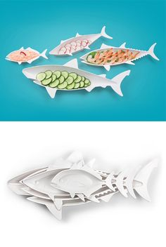 Fish Food Nesting Dishes