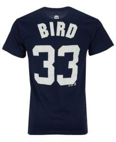 1e5237cccda Majestic Men s Greg Bird New York Yankees Official Player T-Shirt - Blue XL