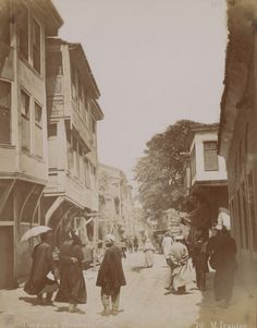 Historical Pictures, Istanbul, Street View, City, World, Iranian, Painting, Painting Art, Cities