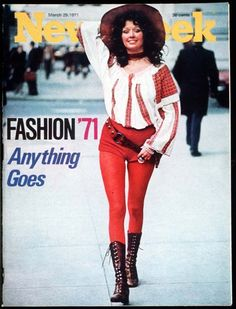 Fashion Week 1971 ... but I would totally wear this now.