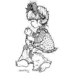 Dibujo para colorear: Sarah Kay (Dibujos animados) #26 - Páginas para colorear