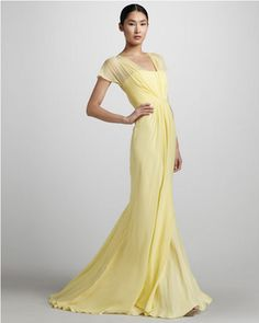Yellow Wedding Gown Trend