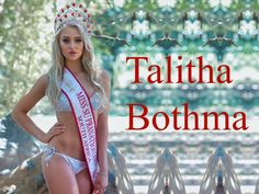 Talitha Bothma Miss South Africa wallpaper