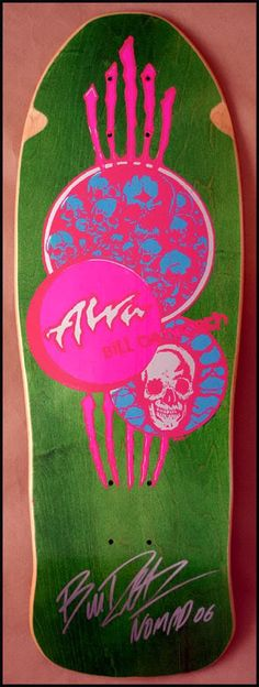 Alva Bill Danforth Circle of Skulls Alva Skateboards, Old School Skateboards, Vintage Skateboards, Skateboard Design, Skateboard Art, Skateboard Pictures, Skate And Destroy, Skate Art, Skate Decks