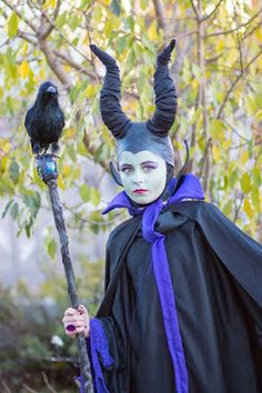 Old school Maleficent  Disney Villains costumes